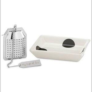 New in box-Kate spade tea infuser
